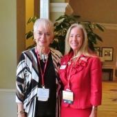 judy-with-FLA-VP-Diane-Van-Parys.-Diane-a-pst-member-of-Repub.-Women-of-Forsyth-County